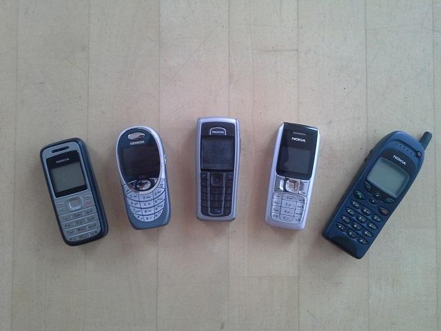 Blogparade: Zeigt und nutzt Eure alten Handys