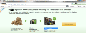 Ab 26.02. Video-Streaming bei Amazon