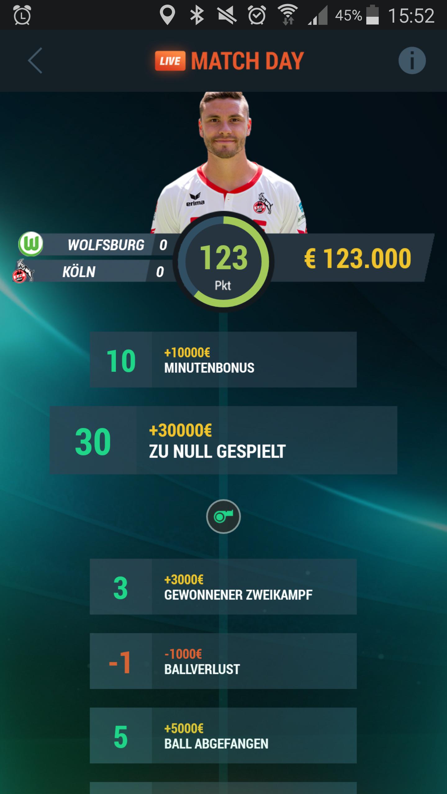 Kickbase - der bessere Fussballmanager für Android / iOS